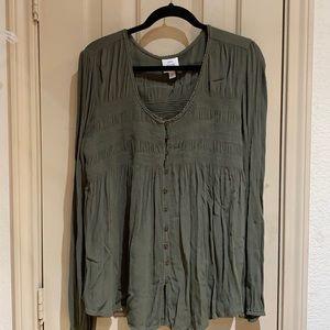 Knox Rose blouse size 1X